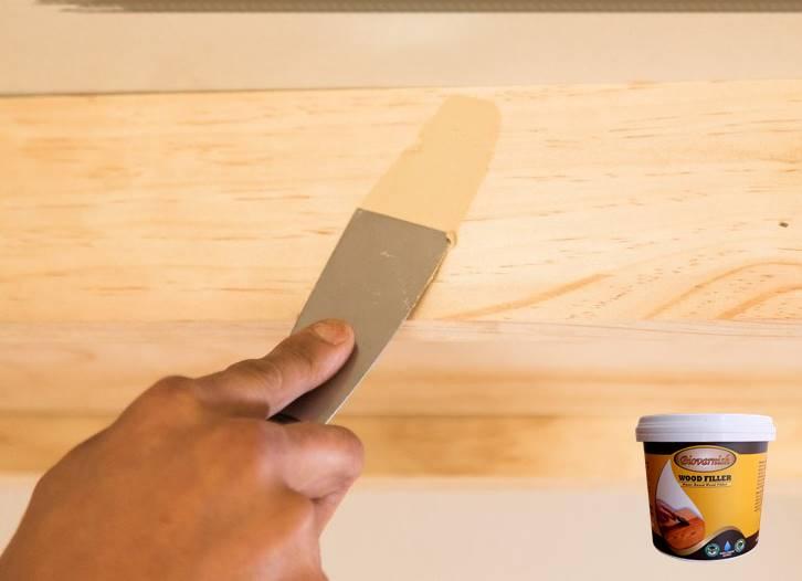 merk dempul kayu wood filler bagus