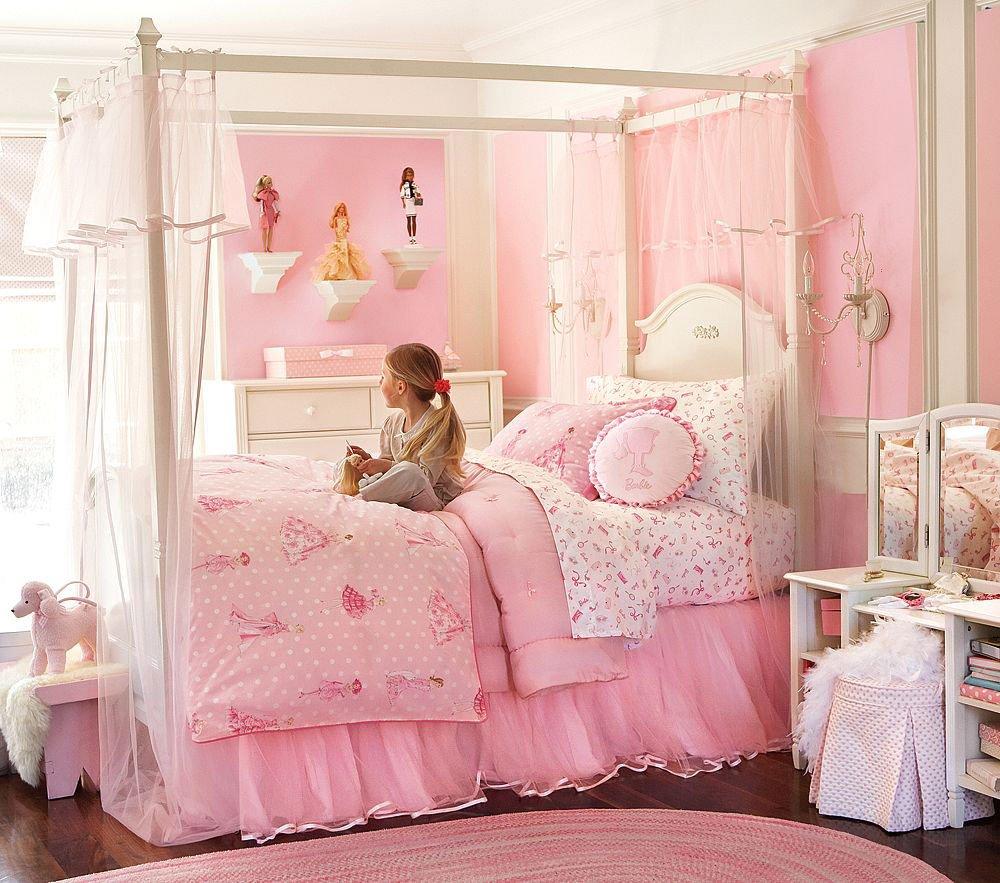 Cara Mendesain Kamar Tidur Anak Perempuan Berwarna Pink