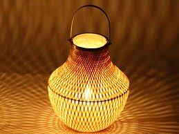 Ide Lampu Unik Berbahan Bambu Dan Cara Membuatnya Dengan Mudah